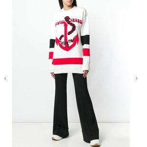 NWT MSGM Oversized Anchor Jumper Sweater